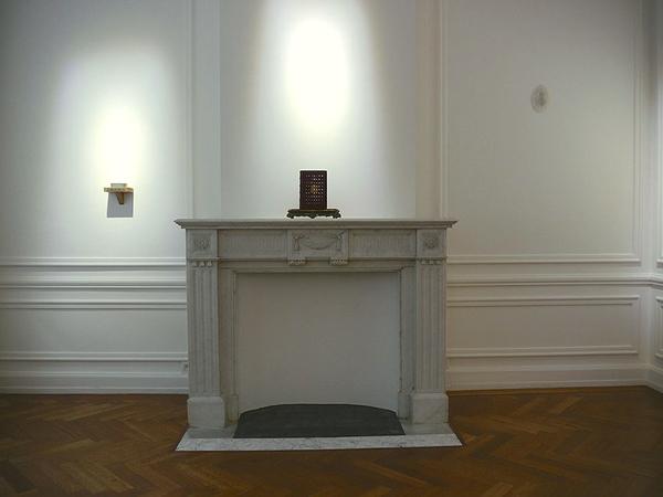 Installation. Metacognitive Artefacts, Galerie Nadine Feront, Bruxelles. Décembre 2013 - Janvier 2014. Photographie: Hadelin Feront