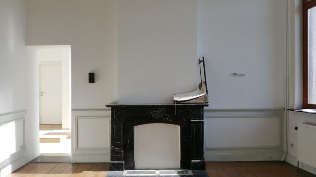 Sans titre. Vue partielle de l'installation. Amollir Molloy, Galerie Flux, Liège. Septembre 2018. Photographie: Lino Polegato