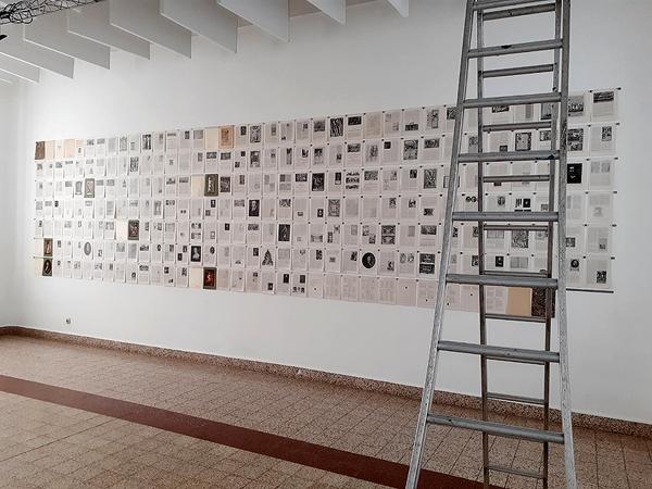 Histoire illustrée de la littérature française. Petite mort, Grande vie, Centre Culturel de Marchin. Du 25 octobre au 15 novembre 2020